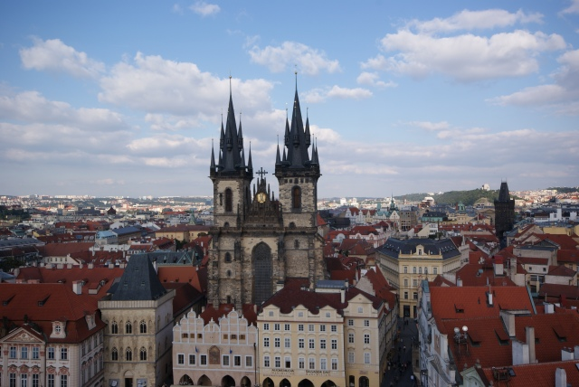 My acquaintance with one of the most beautiful cities in the world - Prague