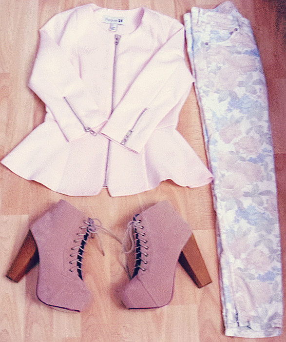 New In + spring outfit